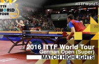 German Open 2016 Highlights: MA Long vs SAMSONOV Vladimir (Final)