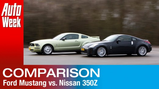 Occasion dubbeltest – Ford Mustang vs Nissan 350Z