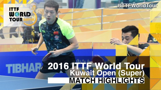 2016 Kuwait Open Highlights: Zhang Jike/Xu Xin vs Tang Peng/Ho Kwan Kit (Final)