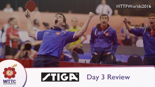 2016 World Championships Day 3 Daily Review presented by Stiga
