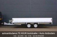 TE HUUR Auto Ambulance / VERHUUR Multitransporter